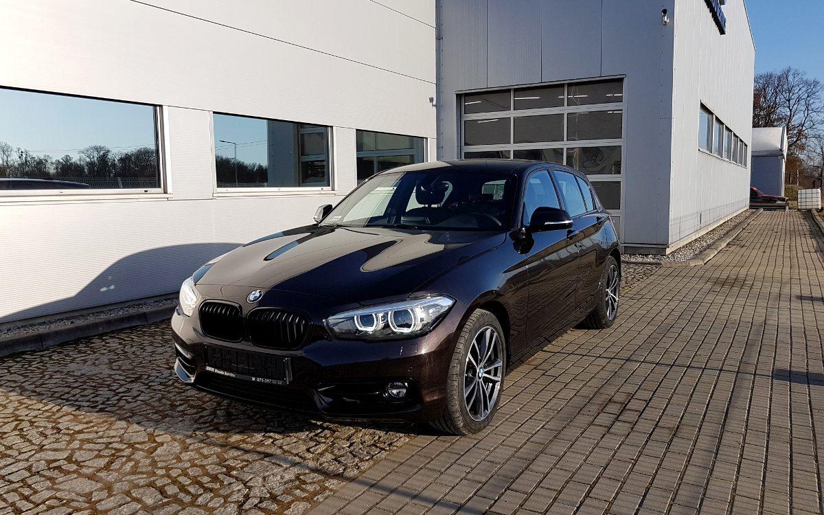 Sprzedaż samochodów marki BMW we Wrocławiu - BMW 120i
