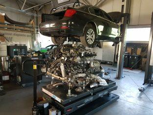 aprawa silnika BMW n63 z samochodu BMW 7 f01