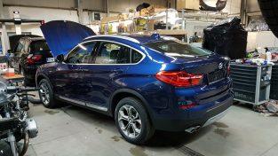 BMW X4 przygotowane do sprzedaży