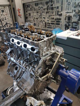 Remont silnika BMW n63 4,4litra benzynowy