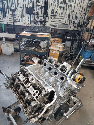 Blokady rozrządu silnika BMW n63b44