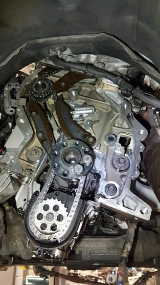 Wymiana rozrządu w silniku BMW N47