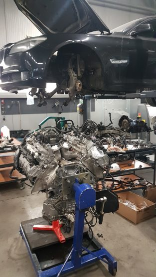 Remont silnika BMW f01