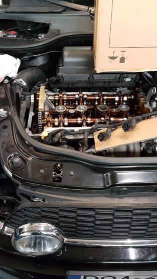 Naprawa zatartego silnika Mini Cooper S