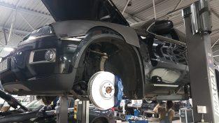 Większe hamulce lepsza siła hamowania dla BMW x6