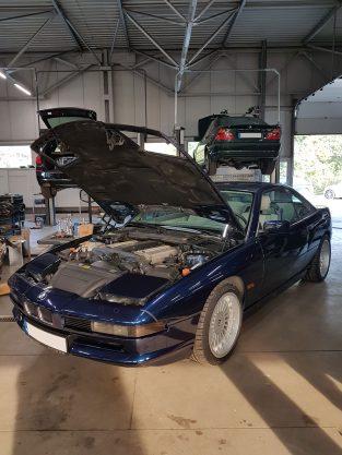 Renowacja BMW 850