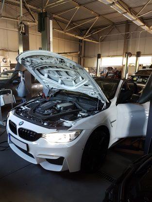 BMW M3 Cabrio w serwisie