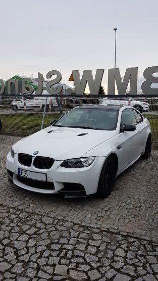 BMW m3 w serwisie