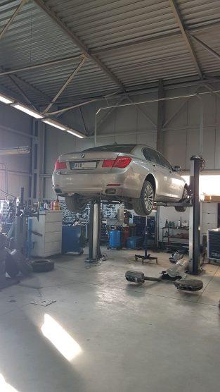 Wymiana skrzyni BMW ATC 35L