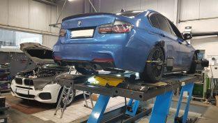 Geometria podwozia BMW