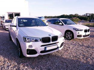 BMW x4 i x1 przygotowane do sprzedaży