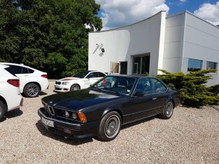 BMW 635csi po renowacji w Stando
