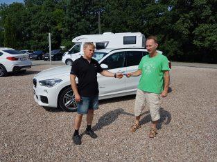 Przekazanie używanego BMW X1 z gwarancją