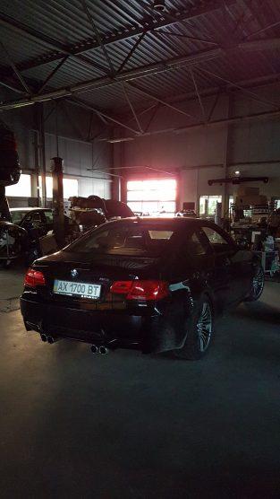 BMW M3 e92 w serwisie BMW Stando Wrocław