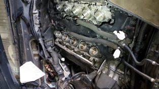 M6 podczas naprawy silnika