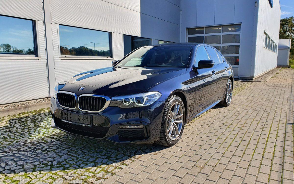 Sprzedaż samochodów marki BMW we Wrocławiu - BMW 518d G30